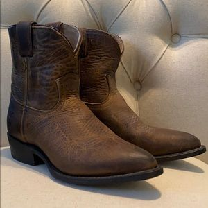 Frye ankle booties. Size 7